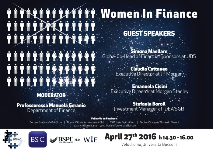 Poster Women in Finance